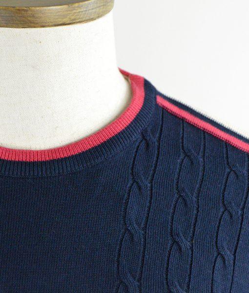 modshoes-Gabicci-blue-crew-neck-shirt-vintage-inspired-03