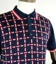 modshoes-Gabicci-navy-red-white-polo-neck-shirt-vintage-inspired-01