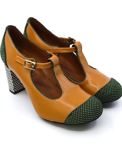 modshoes-the-dusty-salted-caramel-and-green-spotted-ladies-retro-tbar-shoes-03