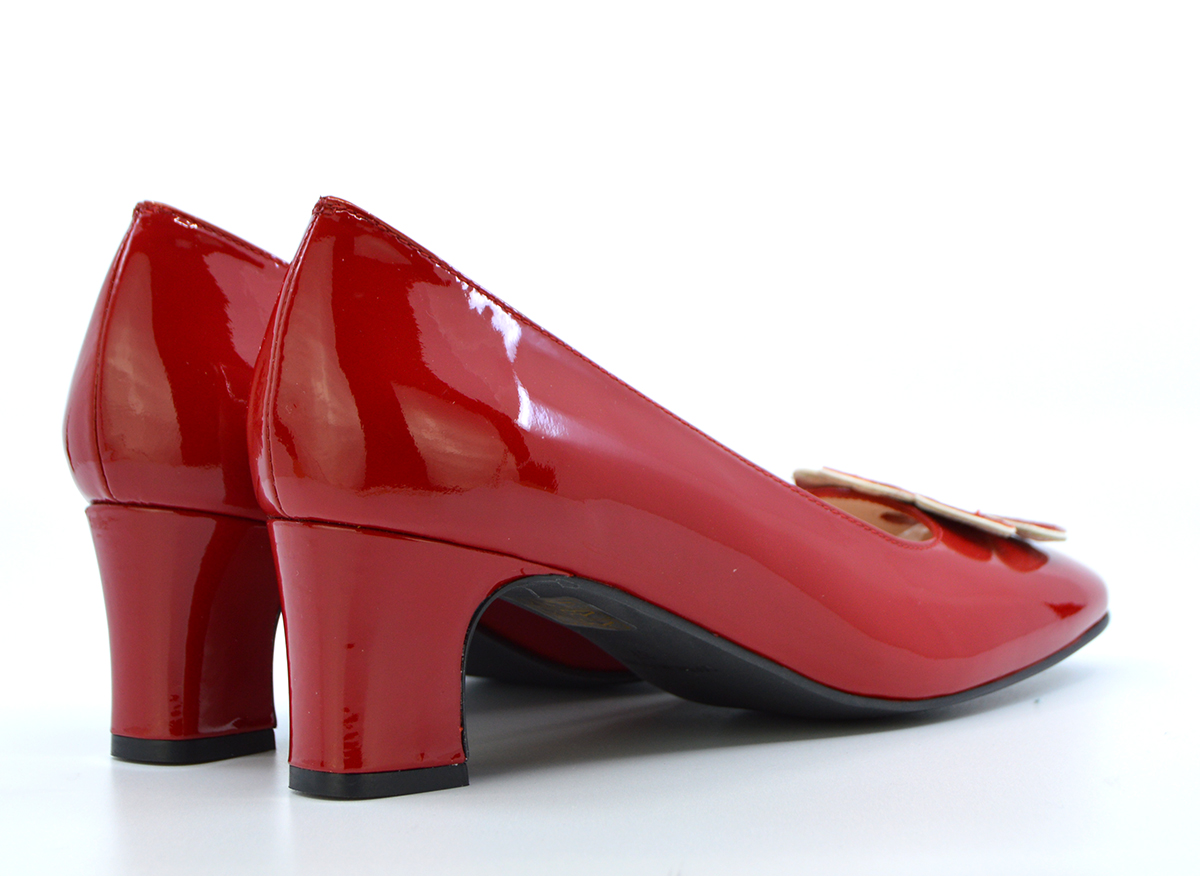 b7282684928b The Fleur Flower Shoes – Ladies Retro Vintage 60 s Style Shoes in ...