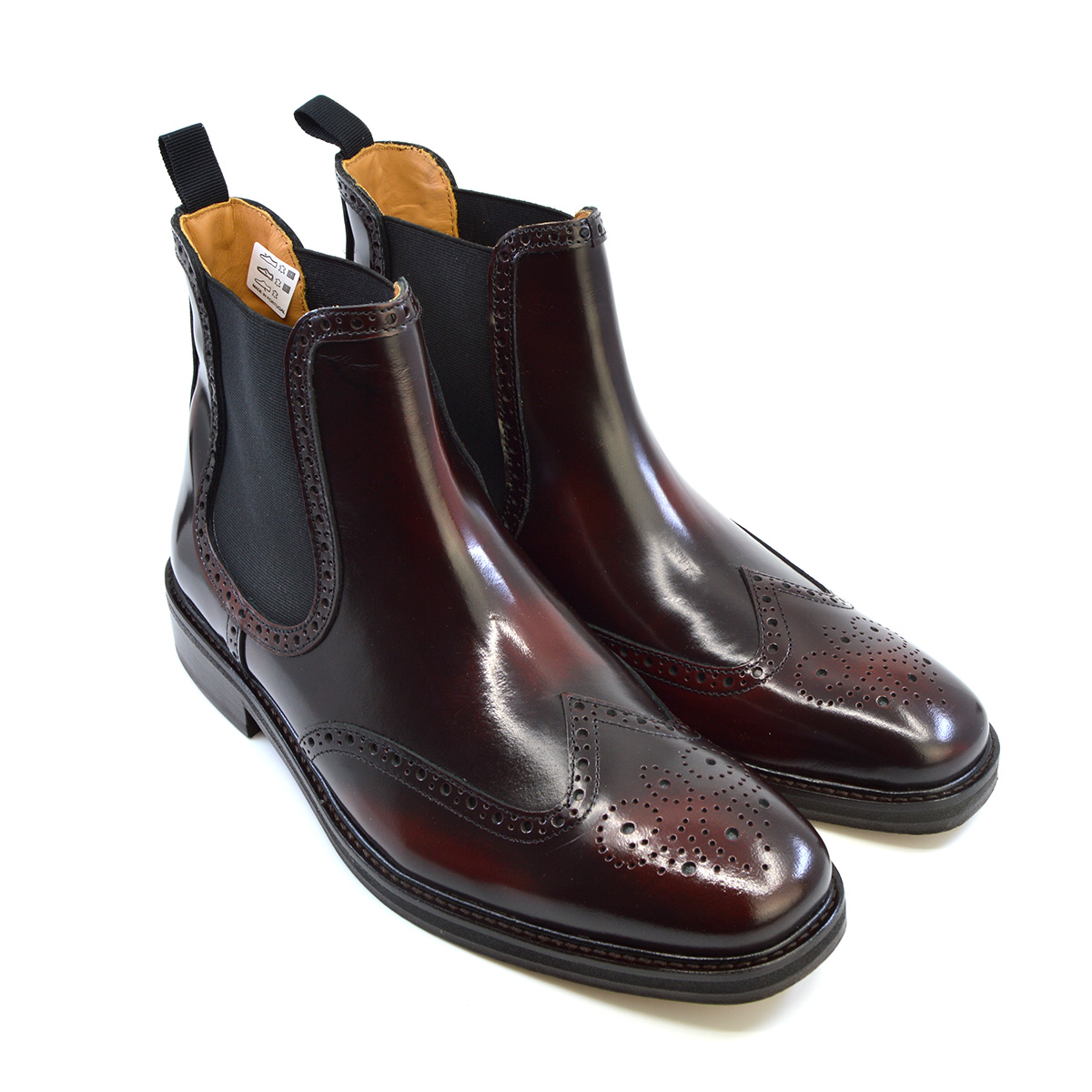 The Thomas – Oxblood Dealer Boots