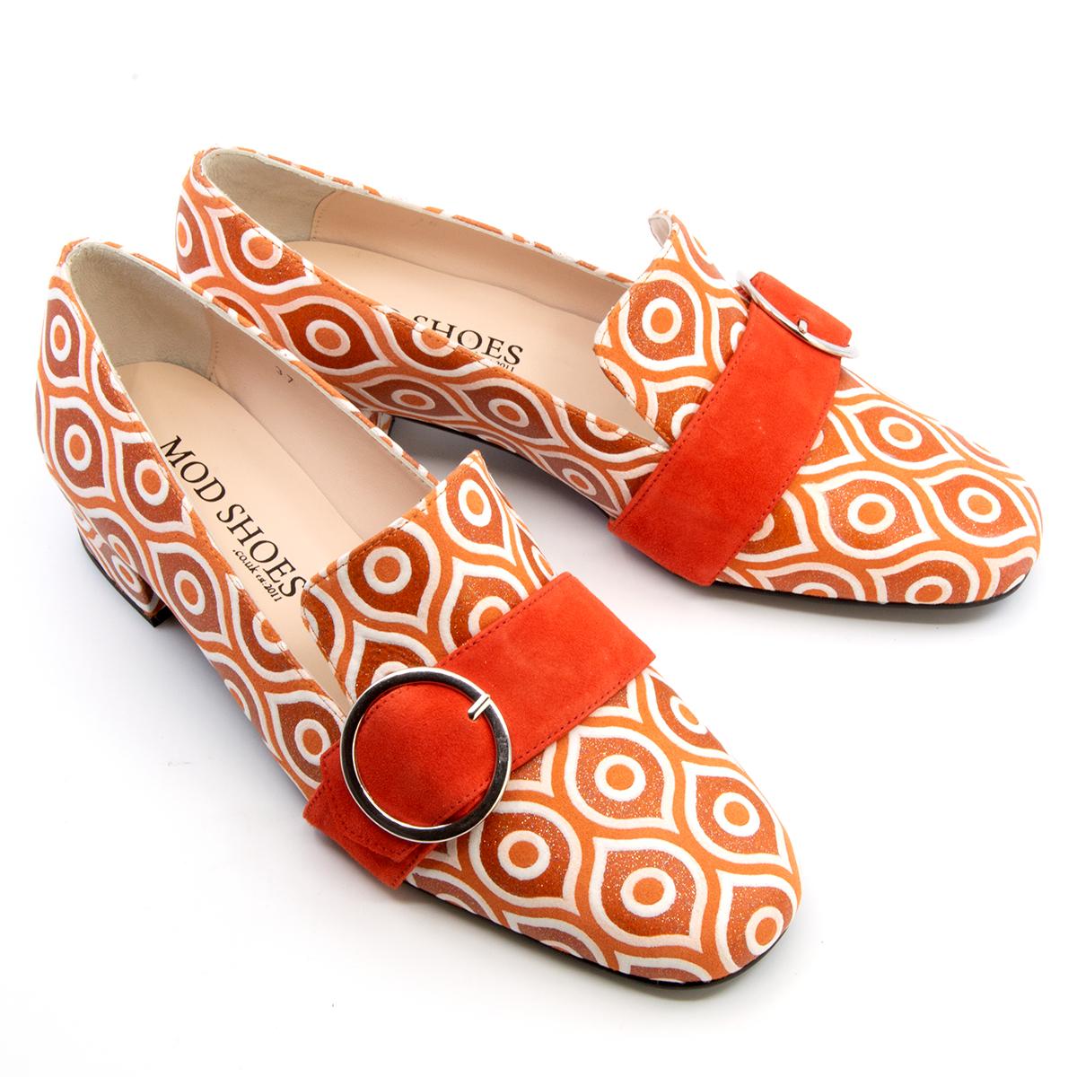 The Marsha In Blood Orange Sparkle