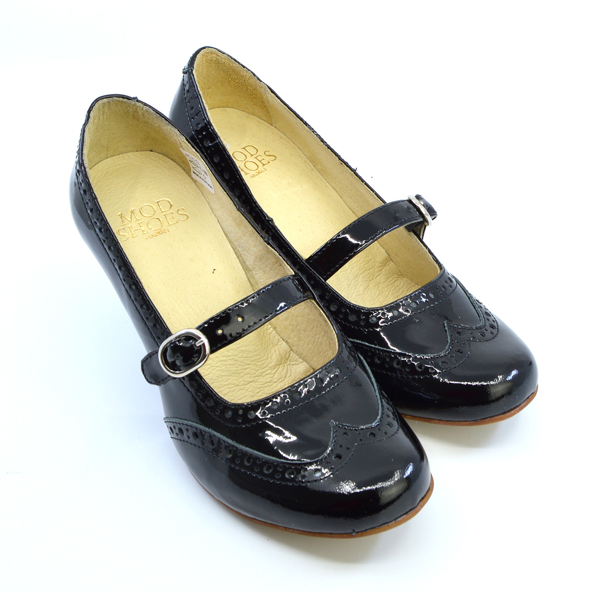 The Penny – Black Patent Leather Mary