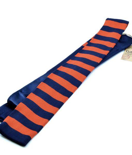 modshoes-tie-retro-vintage-waffle-orange-navy-G191180T-01