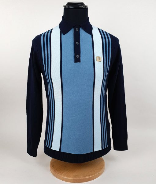 Modshoes-Gabicci-3-shade-of-blue-Stripe-Long-Sleeve-Top-02