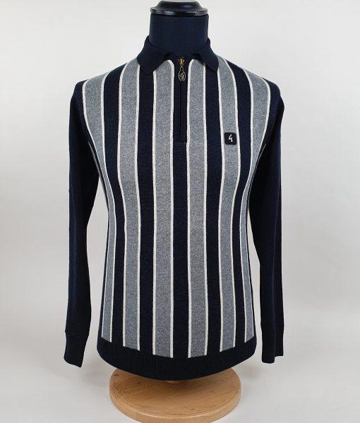 Modshoes-Gabicci-BLack-Grey-Stripe-Long-Sleeve-Top-04