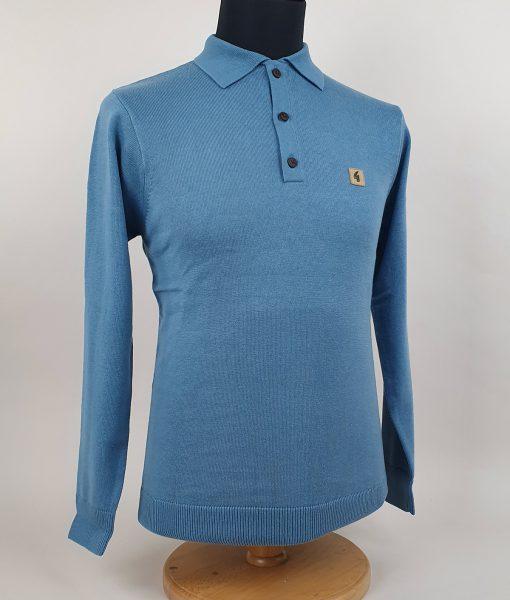 Modshoes-Gabicci-claret-blue-cadet-Long-Sleeve-Top-03