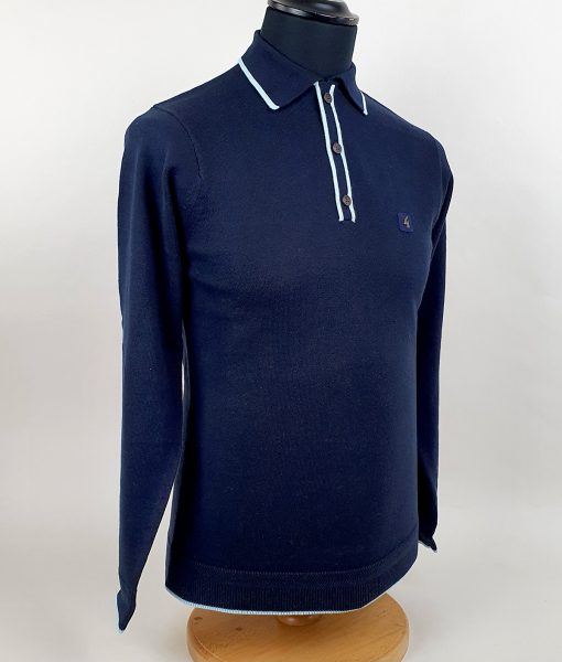 Modshoes-Gabicci-navy-tipped-Long-Sleeve-Top-02