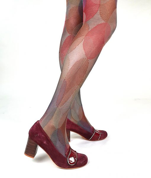 03-Modshoes-Ladies-vintage-retro-style-50s-60s-tights-Psychedelic-brown-03
