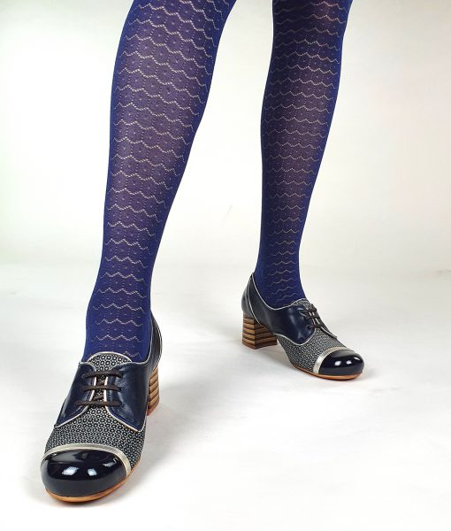 07-Modshoes-Ladies-vintage-retro-style-50s-60s-tights-circle-blue-01