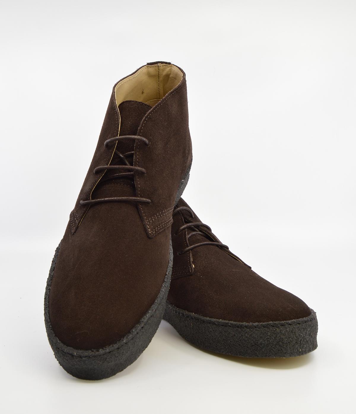 Chukka Boot Dark Brown Suede – The