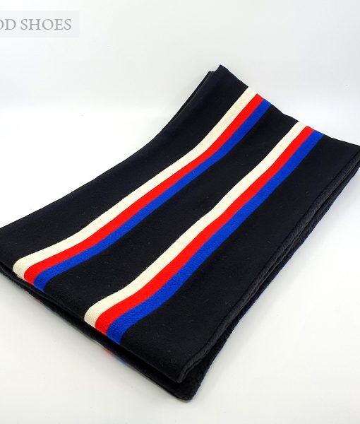 modshoes-mod-60s-scarf-college-made-in-england-black-with-red-white-blue-01