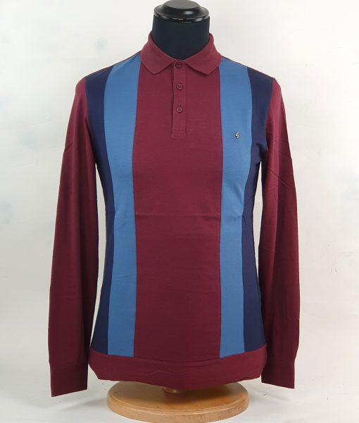 modshoes-gabicci-burgundy-2-blue-stripes-long-sleeve-polo-01