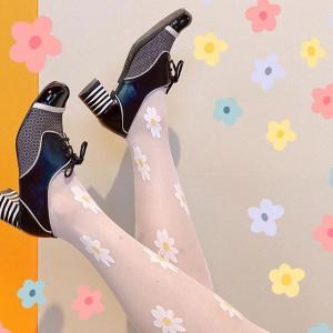 The Lottie in Black – Ladies Retro Shoe by Mod Shoes
