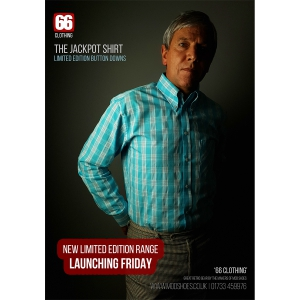 The Jackpot Shirt - Mod Skin Style - 66 Clothing at Mod Shoes