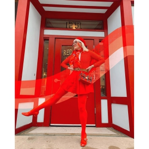 The Lola In Red Patent Leather – Mary Jane 60s Style Ladies Shoes By Modshoes