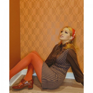 The Marianne In Conker Patent Leather – 60's 70's Vintage Style Ladies Shoes by Mod Shoes