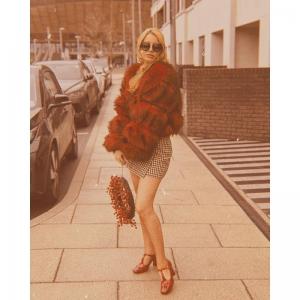 The Stella Stars – Patent Leather Ladies Retro Vintage 60s 70s Shoe