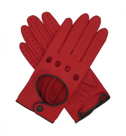 modshoes vintage retro ladies leather gloves jules_contrast_driving_glove_red_1_3