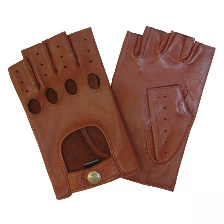 modshoes vintage retro mens driving leather gloves 113_sterling_tan