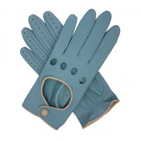 modshoes vintage retro ladies leather gloves jules_contrast_driving_glove_duck_egg_1_2
