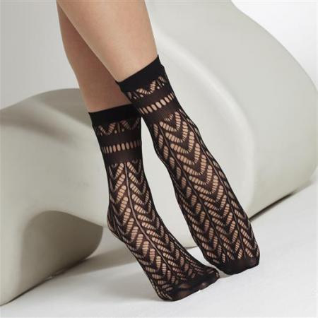 1714 Arrow Pelerine Ankle Socks