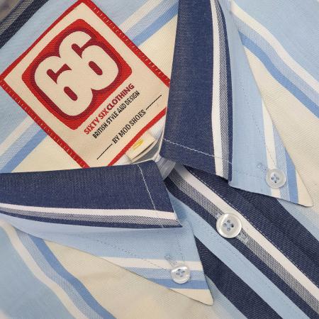 66-clothing-jackpot-blue-button-down-shirt-stripe-mod-skinhead-hard-mod-style-01