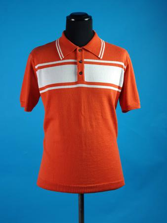 66-clothing-the-rickey-orange-and-white-stripe-mod-50s-60s-vintage-style-polo-04