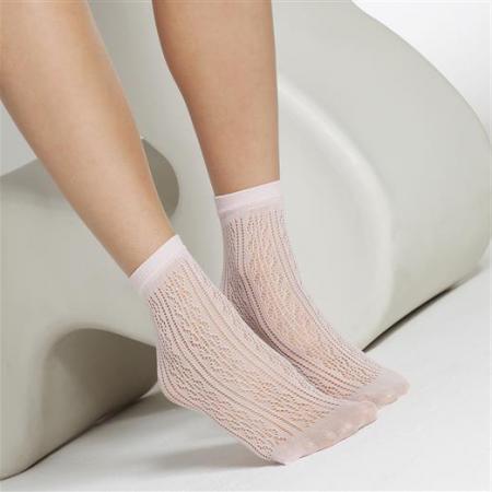 1717 Candy Pink Pelerine Anklet_002