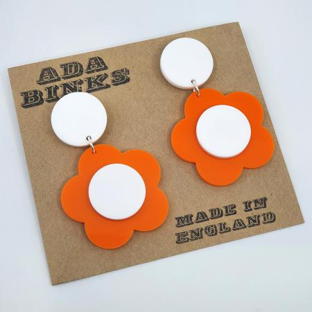 modshoes-ada-binks-drop-earrings-quant-style-orange-white