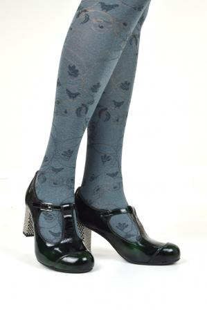 modshoes-ladies-retro-vtinage-style-marbel-gray-brid-pattern-tights