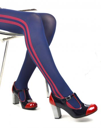 modshoes ladies vintage style retro tights 05