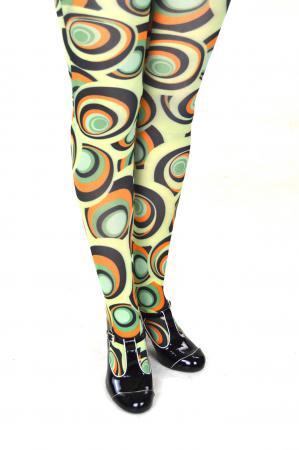 modshoes ladies vintage style retro tights 34