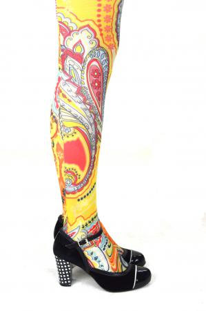 modshoes ladies vintage style retro tights 27