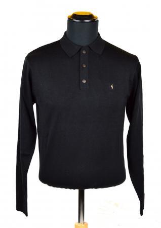 modshoes-black-long-sleeve-polo-Gabicci-01