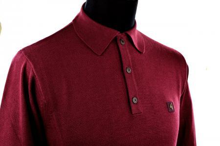 modshoes-oxblood-burgundy-long-sleeve-polo-Gabicci-06