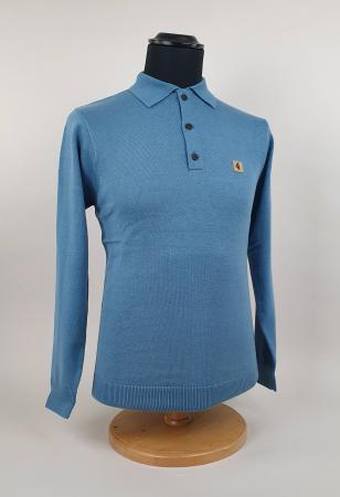 Modshoes-Gabicci-claret-blue-cadet-Long-Sleeve-Top-03