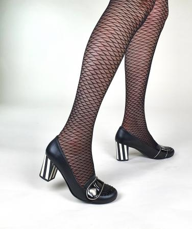 08-Modshoes-Ladies-vintage-retro-style-50s-60s-tights-sheer-mermaid-black-03