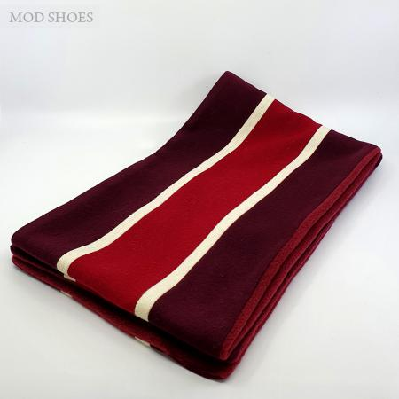 modshoes-mod-60s-scarf-college-made-in-england-burgundy-deep-red-white-stripe-thick--01