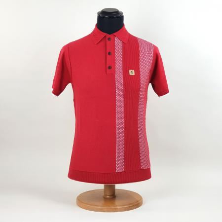 modshoes-gabicci-red-polo-with-white-stripe-mesh-design-04