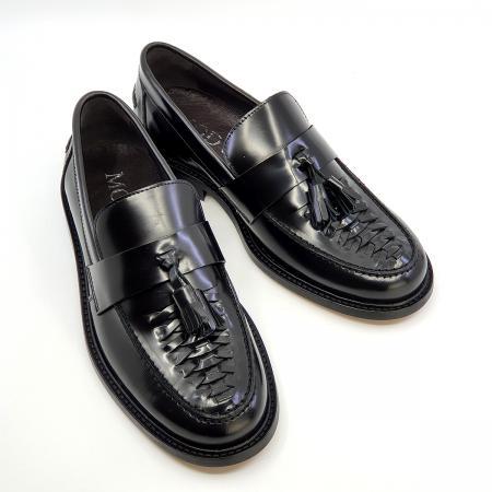 The-Allnighter---Ladies-Basket-Weave-black-Tassel-Loafers---SKA-Northern-Soul-Shoes-03