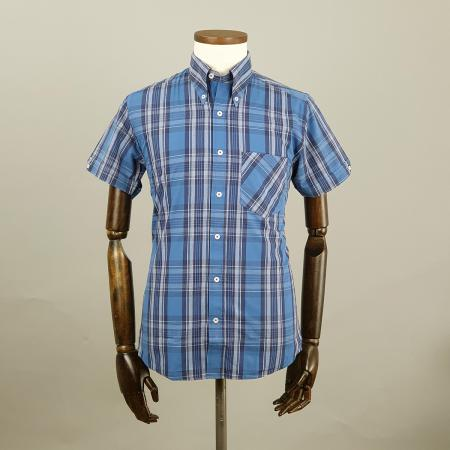 modshoes-jackpot-3-colours-blue--tartan-mod-ska-shirt-short-sleeve-06