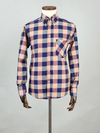 modshoes-and-66-clothing-jackpot-shirt-66SS12-long-sleeve-mod-skin-tartan-shirt-blue-purple-shades-05