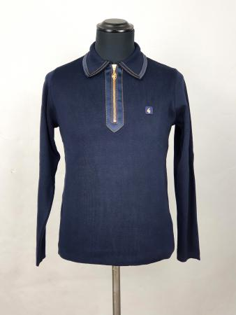 modshoes-exclusive-gabicci-rudeboy-long-sleeve-polo-jamican-ska-trojan-look-navy-06