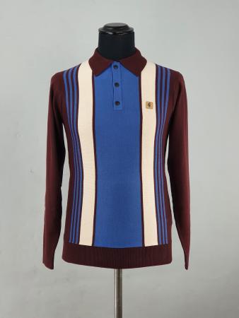 modshoes-gabicci-searle-burgundy-and-blue-stripe-01