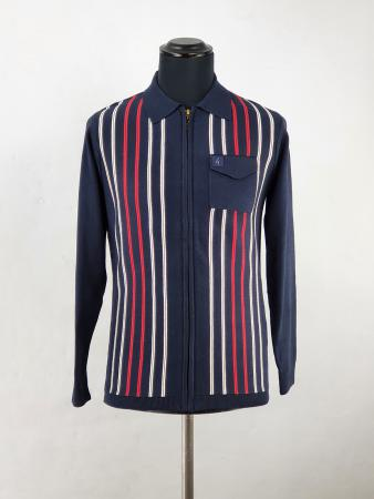 modshoes-gabicci-stripe-cardy-zip-through-navy-with-red-white-stripes-01
