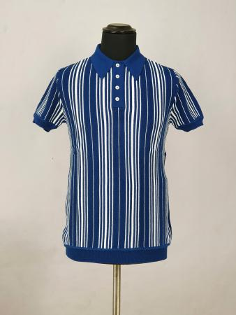 ModShoes-66-Clothing-Brunswick-Mod-60s-Polo-Cobalt-Blue-Knitwear-05