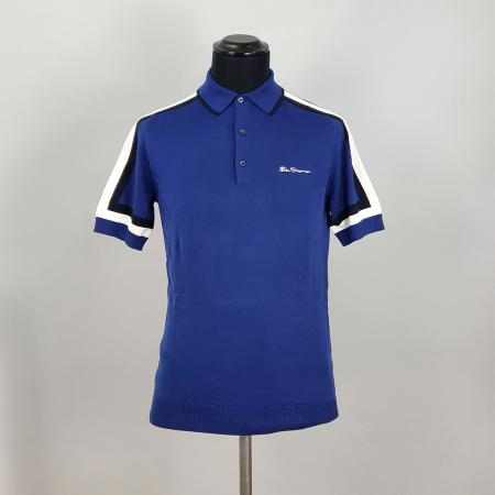 modshoes-ben-sherman-blue-polo-with-contrast-stripe-on-sleeve-03